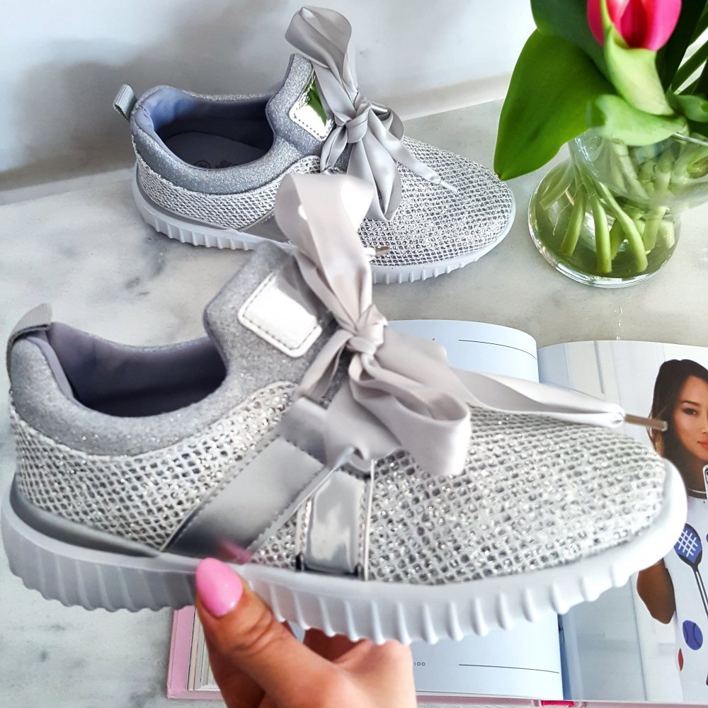 Buty Bow Silver