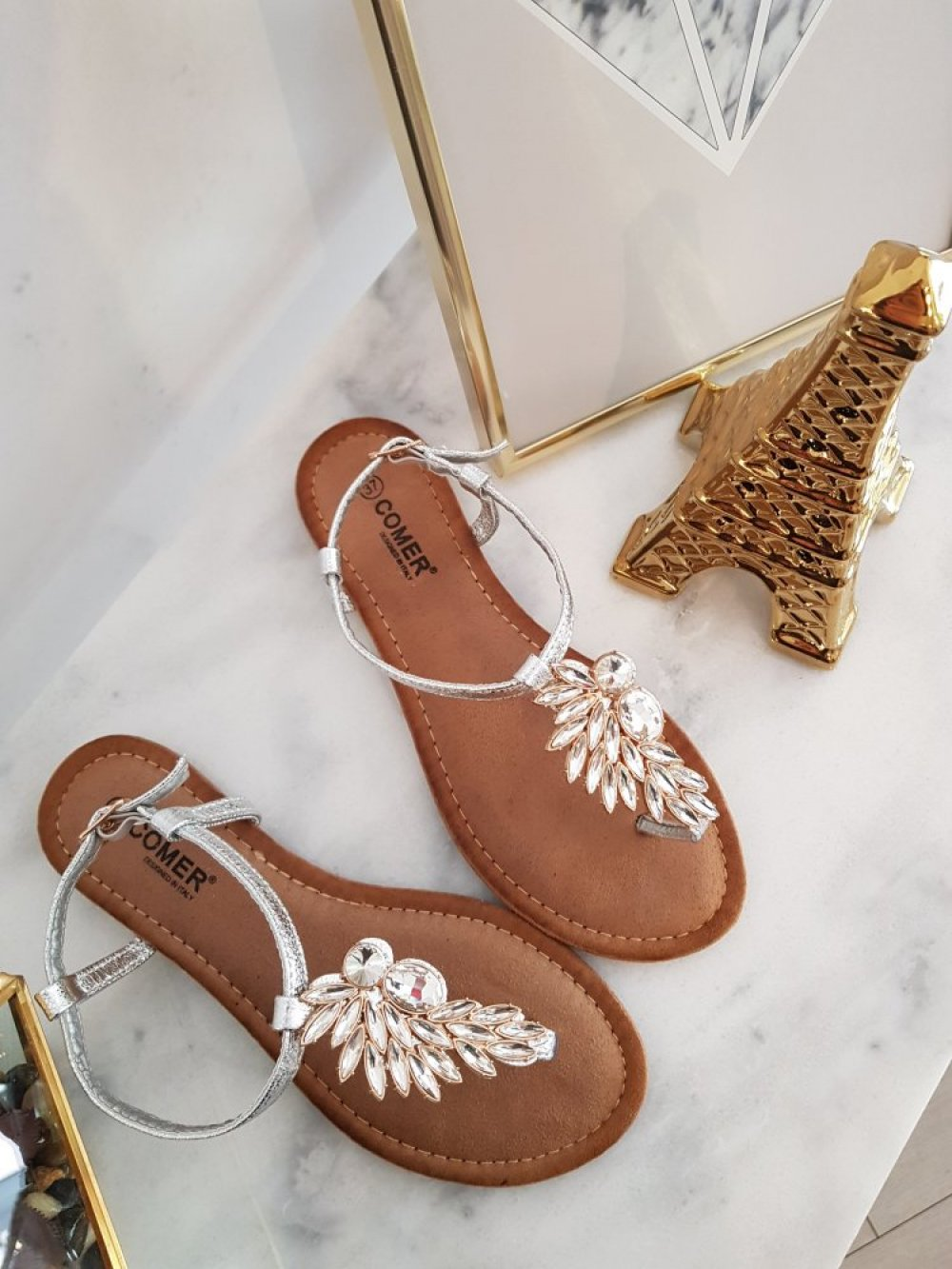 Sandały Piórko