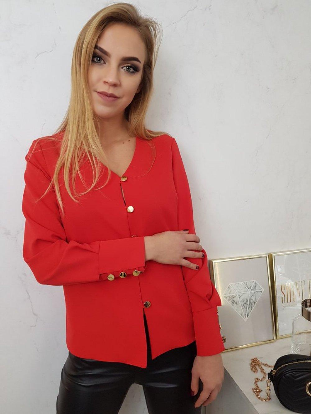 Koszula Diana Czerwona