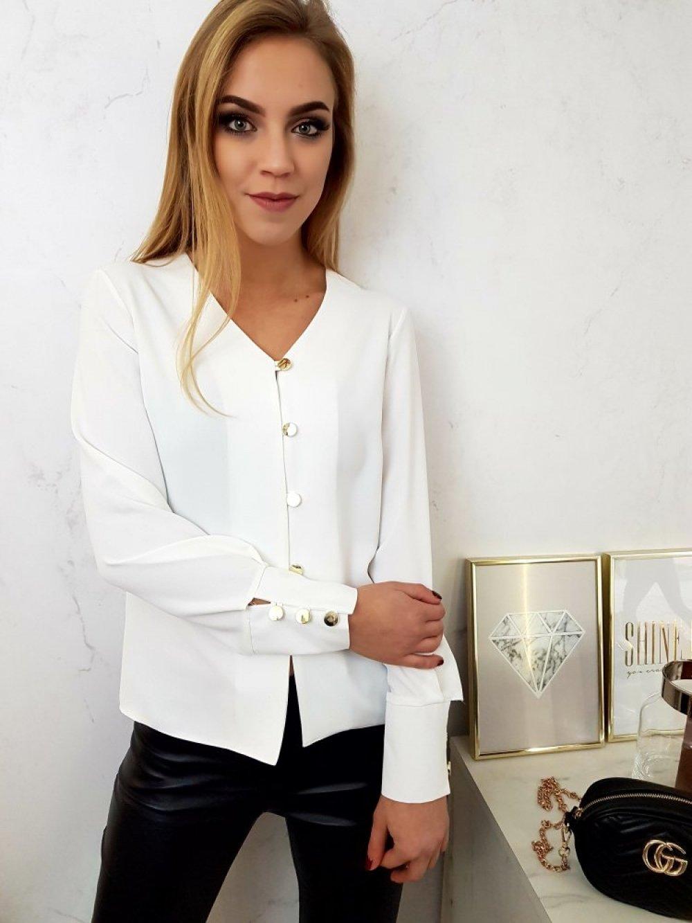Koszula Diana Biała
