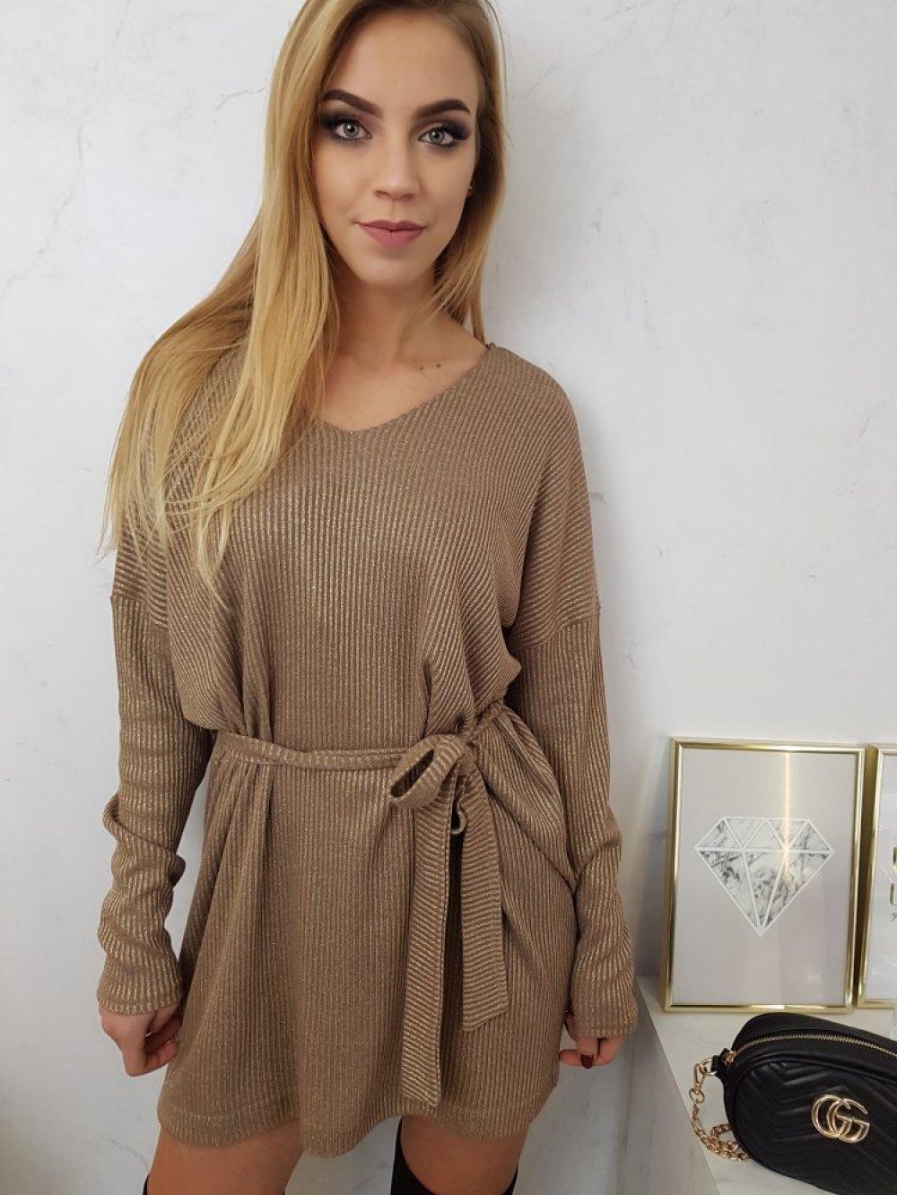 Sukienka Brokatowa Vanes