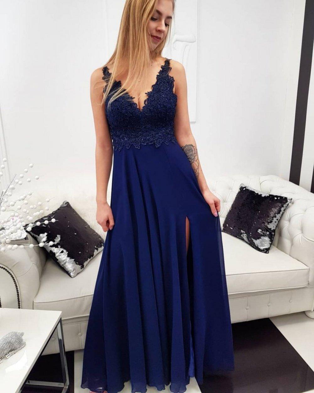 Sukienka Diva Granat