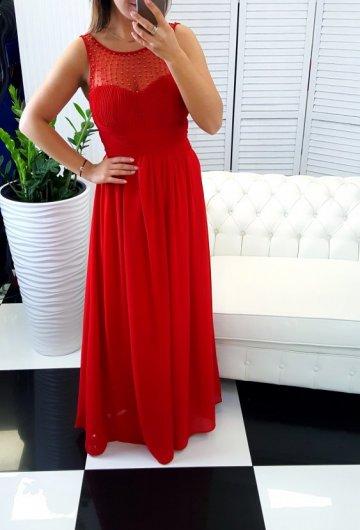 Sukienka Koraliki Czerwień