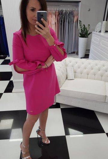 Sukienka Amanda Różowa