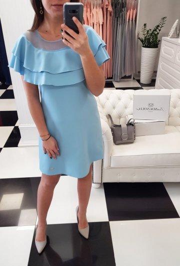 Sukienka Oliwia Błękitna