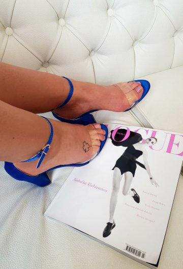 Sandały Chabrowe