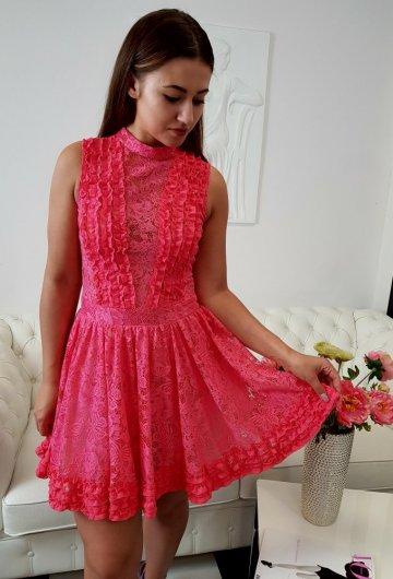 Sukienka Balerina Koral
