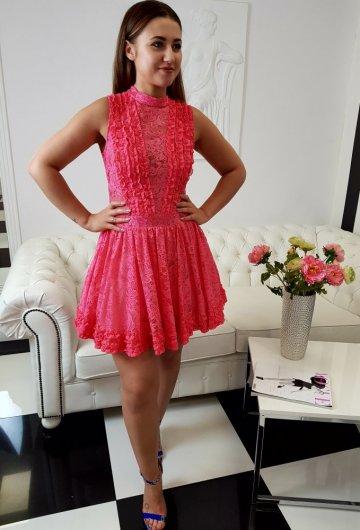 Sukienka Balerina Koral 1