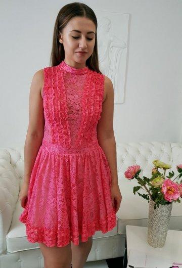 Sukienka Balerina Koral 3