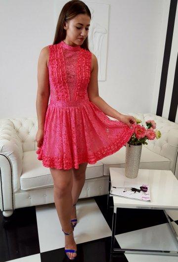 Sukienka Balerina Koral 4