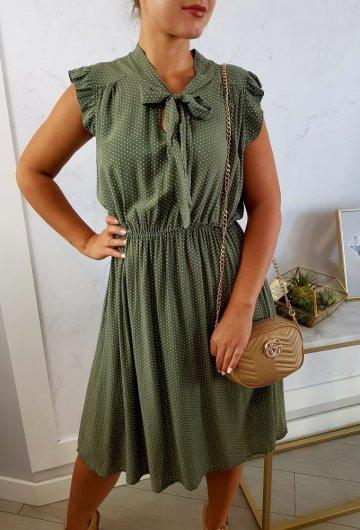 Sukienka Marii Khaki