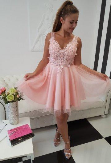 Sukienka Tiulowa Kwiaty