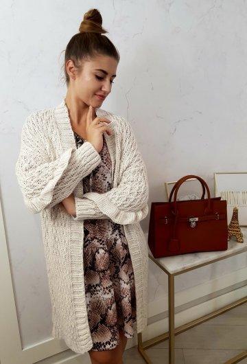 Sweter Vesper Beżowy