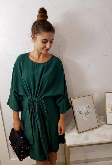 Sukienka Kate Butelkowa Zieleń