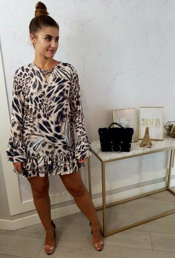 Sukienka Falbanka Gepart