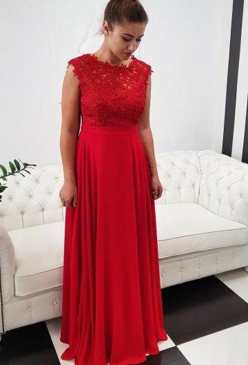 Sukienka Gipiura Czerwona