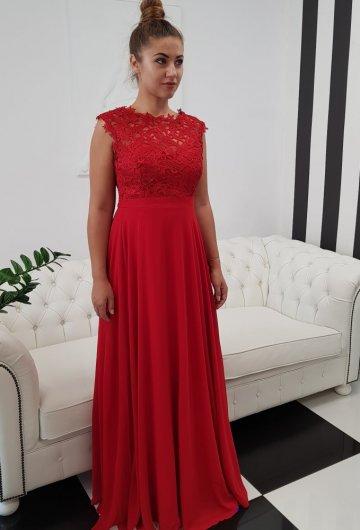 Sukienka Gipiura Czerwona 2