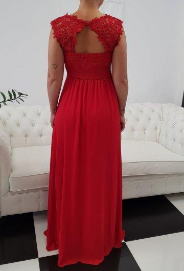 Sukienka Gipiura Czerwona 3