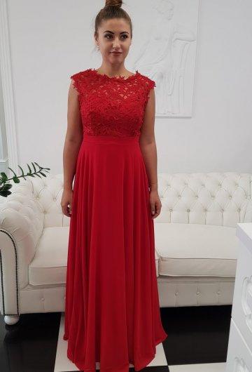 Sukienka Gipiura Czerwona 7