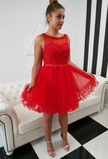 Sukienka Margaretka Czerwona