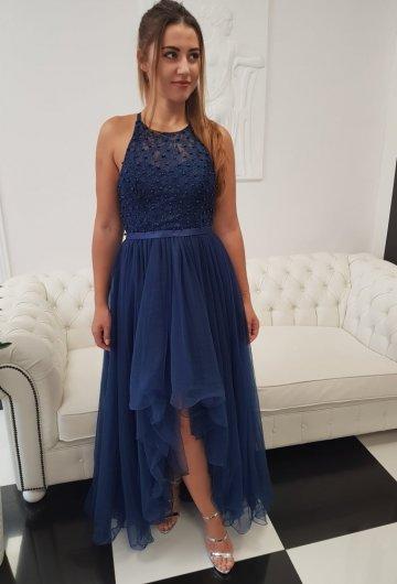 Sukienka Mia Granatowa 4