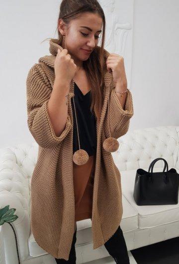 Sweter Pompony