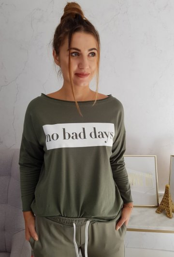 Bluzka No Bad Days Khaki