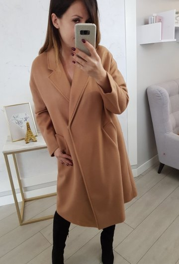 Płaszcz By o la la Camel
