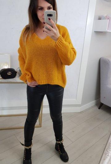 Sweterek Zoja Pomarańcz