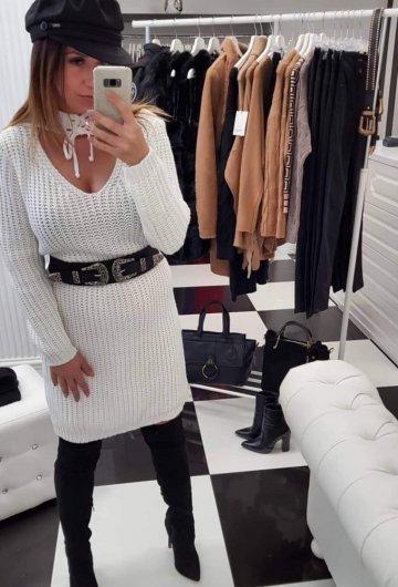 Sukienka Bocca Biała