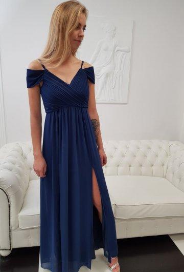 Sukienka Dolores Granat 2