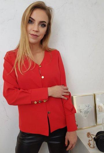 Koszula Diana Czerwona 2
