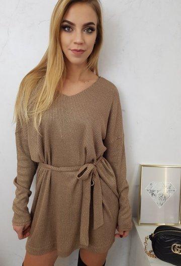 Sukienka Brokatowa Vanes 4