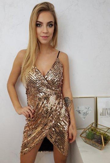 Sukienka Rose Gold