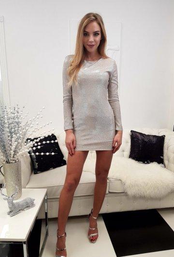 Sukienka Szampańska 3