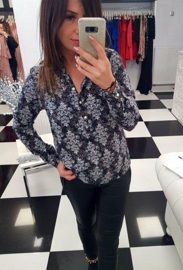 Koszula Etno z guzikami