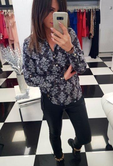 Koszula Etno z guzikami 1
