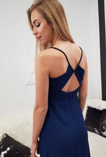 Sukienka Marcelina Granat 2