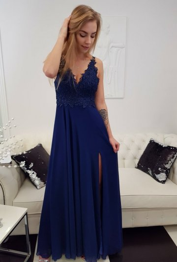 Sukienka Diva Granat 4