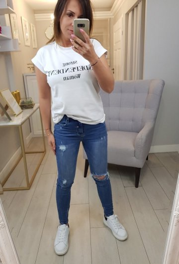 Spodnie Jeansowe Queen Heart