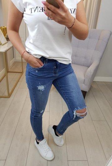 Spodnie Jeansowe Queen Heart 2
