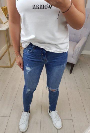 Spodnie Jeansowe Queen Heart 3