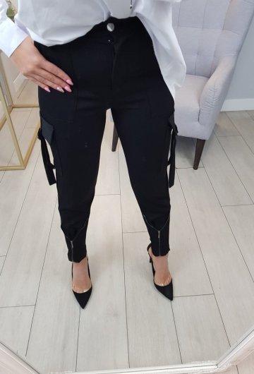 Spodnie Wiktoria Czarne