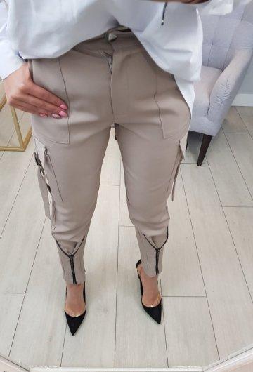 Spodnie Wiktoria Beżowe