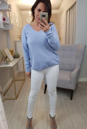 Sweterek Baby Blue 1