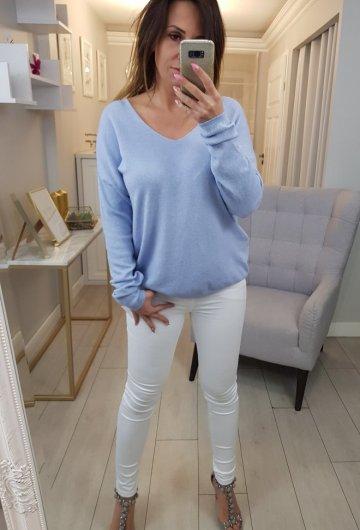 Sweterek Baby Blue 2