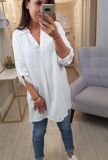 Koszula Long Biała