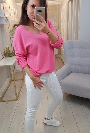 Sweterek Różowy