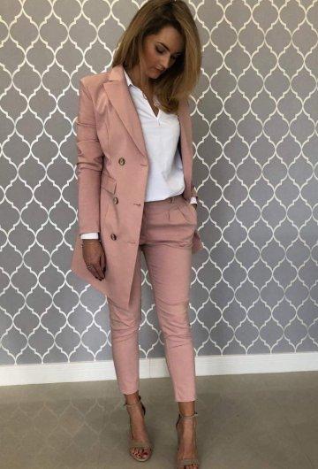 Spodnie Purpura Różowe