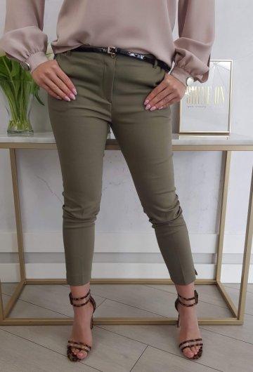 Spodnie Materiałowe Khaki 4